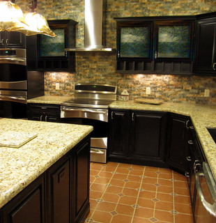 Southwest Style Kitchen Remodel - Traditional - Kitchen - other metro - by Jerilyn Horn ...