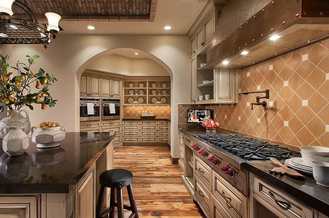 Southwestern ranch traditional kitchen phoenix by for Elegant residences kitchens