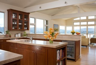 Hartung Residence contemporary kitchen