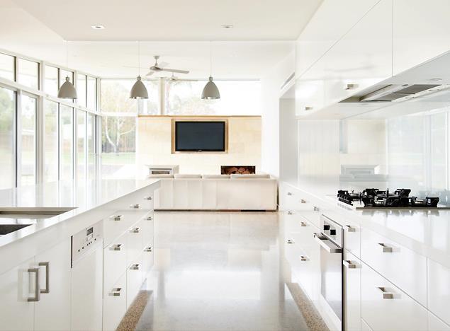 space house modern-kitchen