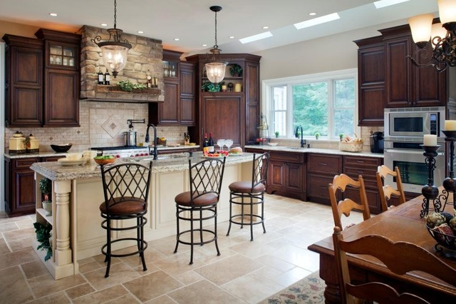 Space to Expand traditional kitchen
