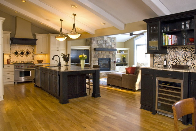 Spacial Adaptation traditional kitchen