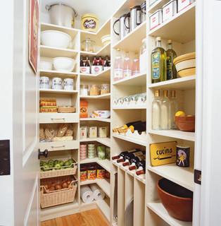Spacious Kitchen Pantry - Riverside, CT - Traditional - Kitchen - New York