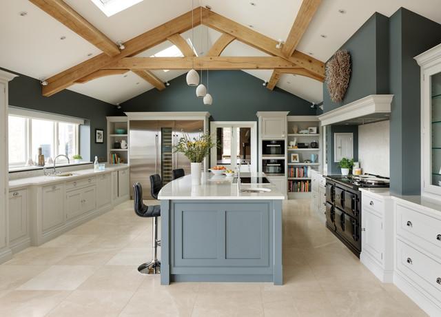 Spacious Open Plan Kitchen Modern Kuche Manchester