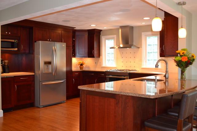 Spacious updating traditional kitchen boston by for Traditional kitchen meaning