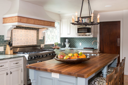 spanish bohemian in south pasadena - Spanish Style Kitchen