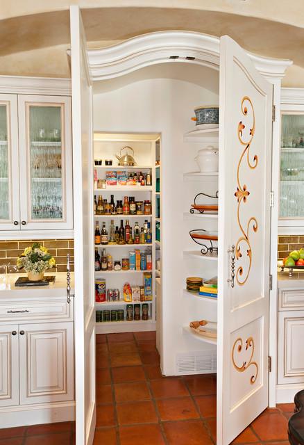 Spanish Colonial Remodel mediterranean-kitchen