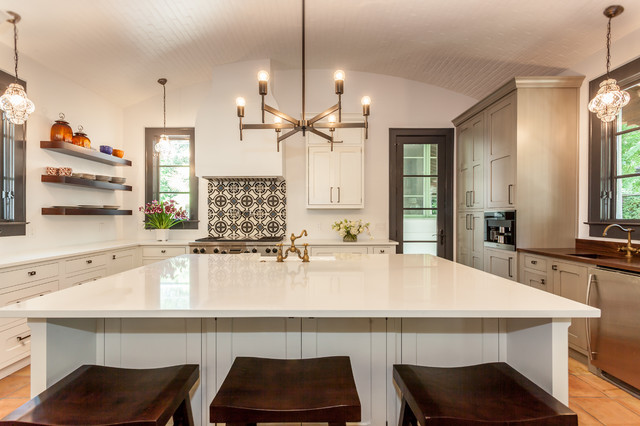 Spanish Hacienda - Transitional - Kitchen - by Kitch Cabinetry and ...