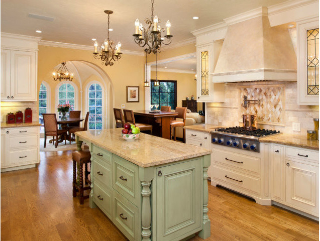 Spanish Revival Restoration Mediterranean Kitchen San