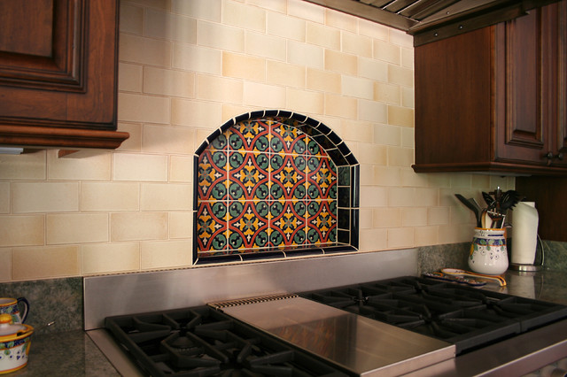 Spanish Style Home Hillsborough Ca Mediterranean Kitchen
