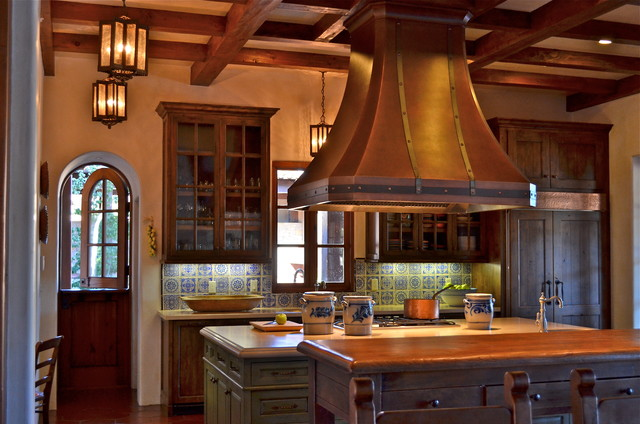 Spanish style home traditional kitchen san francisco by melanie giolitti interior design - Home decor san francisco image ...
