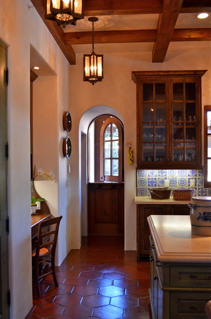 Spanish style home - Traditional - Kitchen - San Francisco - by ...