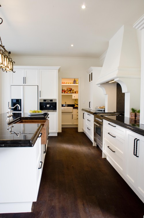 How do you keep white kitchen cabinets clean?