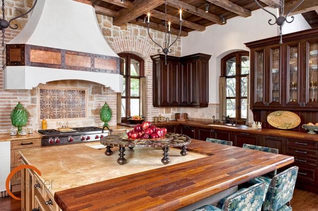 Spanish Style Mediterranean Kitchen Austin By Palmer Todd