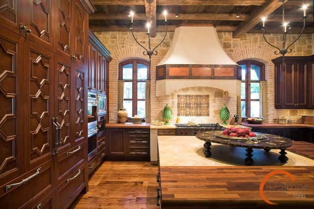 Spanish Style - mediterranean - kitchen - other metro - by Palmer Todd