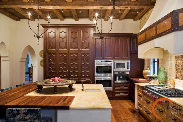 Spanish Style mediterranean-kitchen