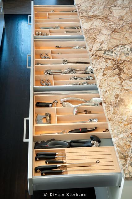 Sparkling Glass modern-kitchen