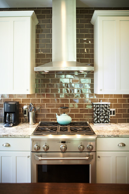 Spear Kitchen & Fireplace traditional-kitchen