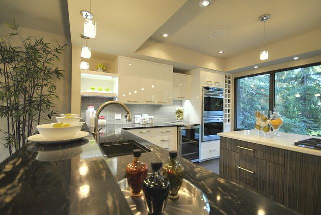Spectacular Contemporary Kitchen in Edmonton, AB, Canada contemporary-kitchen