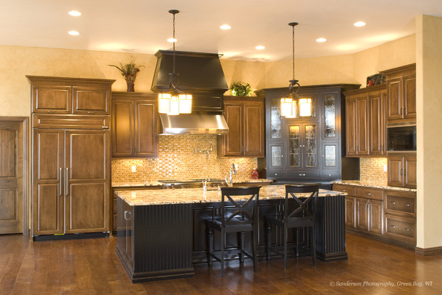 Spectacular Details in This Open Concept Home with a Mediterranian Flair! mediterranean-kitchen