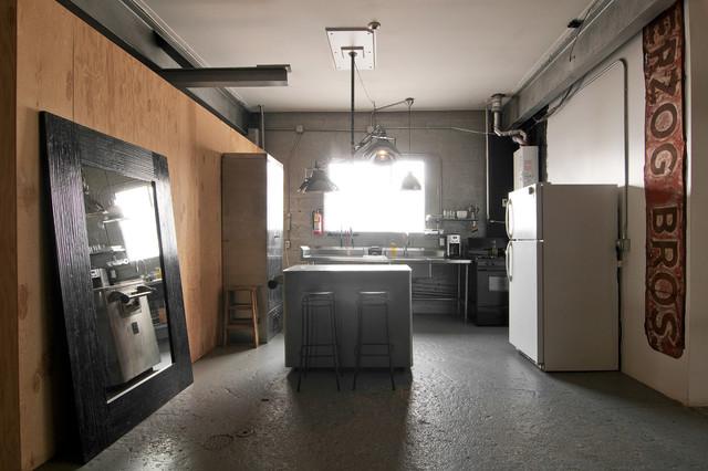 Spencer And Alex Industrial Kitchen Salt Lake City