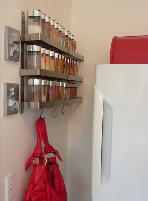 Spice rack - Wall mounted spice racks for kitchen ...