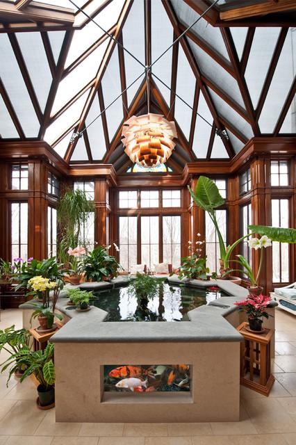 Spiritual elegance concealing function traditional-kitchen