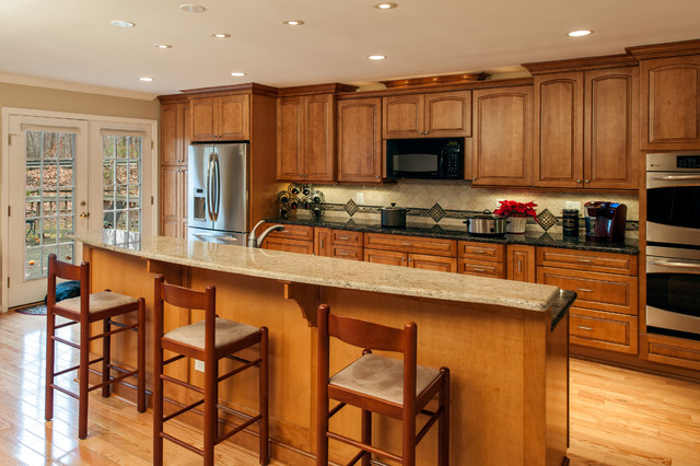 Split Level Make Over Eclectic Kitchen Dc Metro By Details Home Services