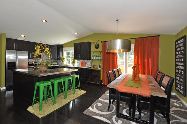 Split Level Remodel Transitional Kitchen Other Metro By Calla Lily Designs LLC