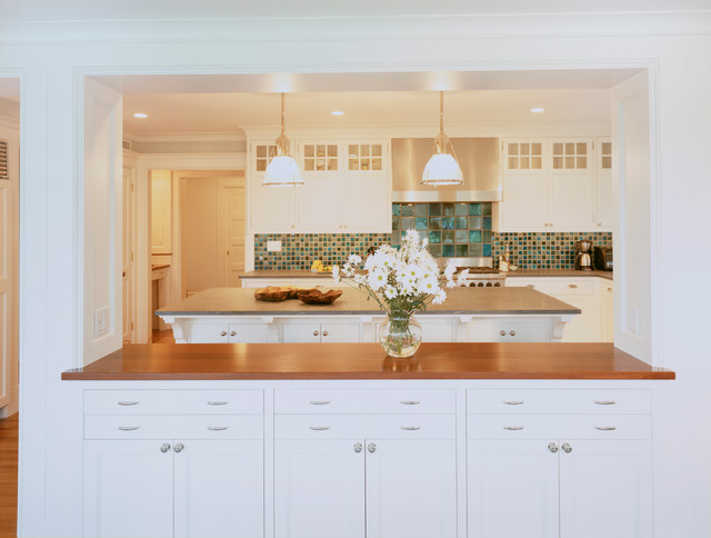 Spring Fresh - Traditional - Kitchen - Boston - by Hart ...