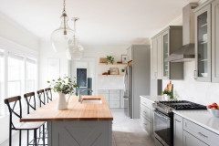Kitchen of the Week: White, Gray and Peaceful in Tennessee