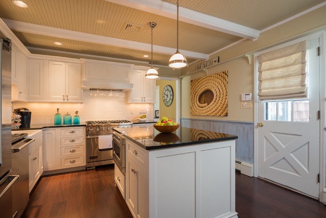 Spring lake heights beach cottage contemporary kitchen for Interior designs by ria