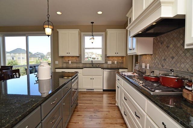 Spring Meadows Model traditional-kitchen