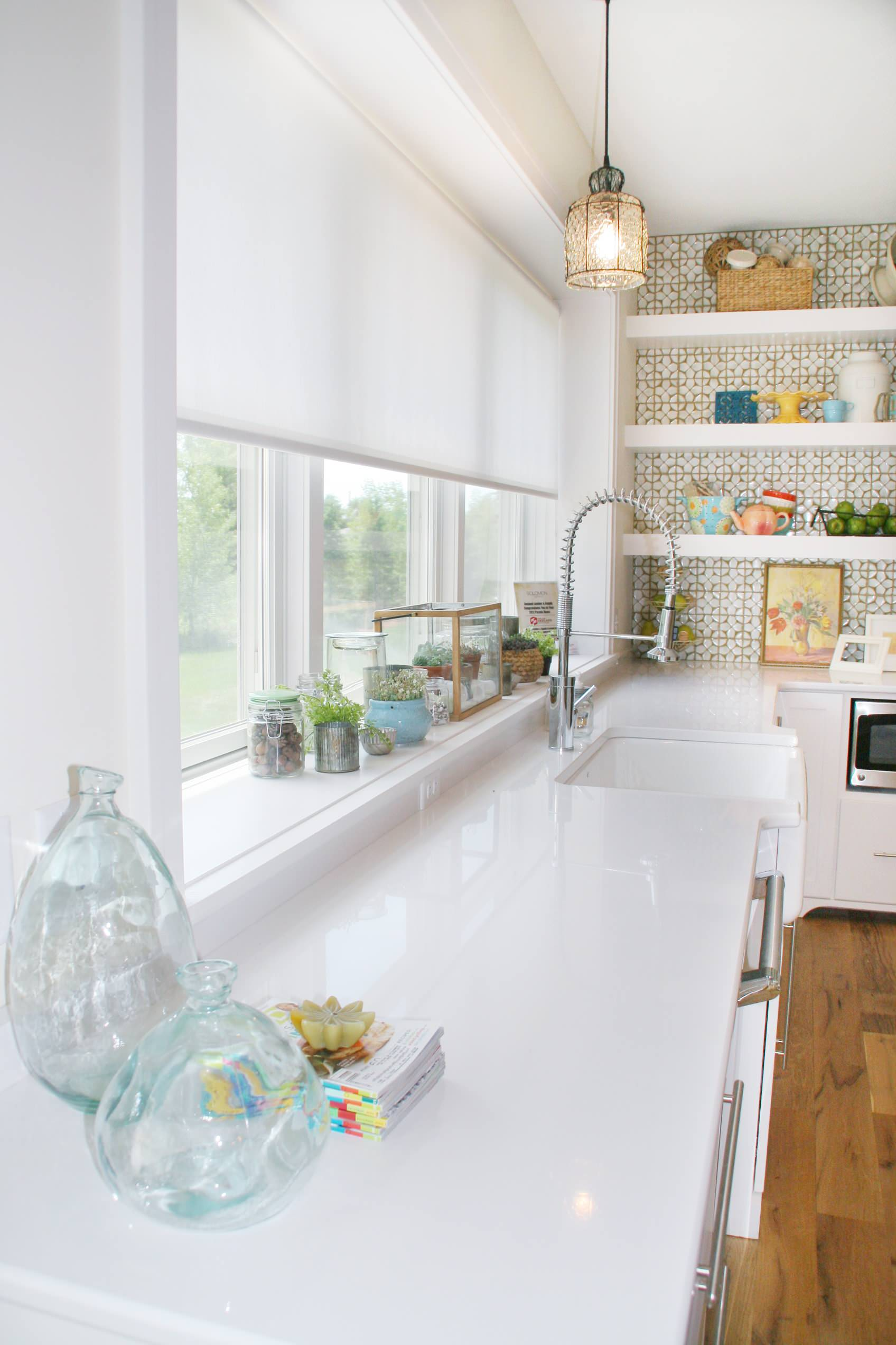Over Sink Window Treatment Houzz