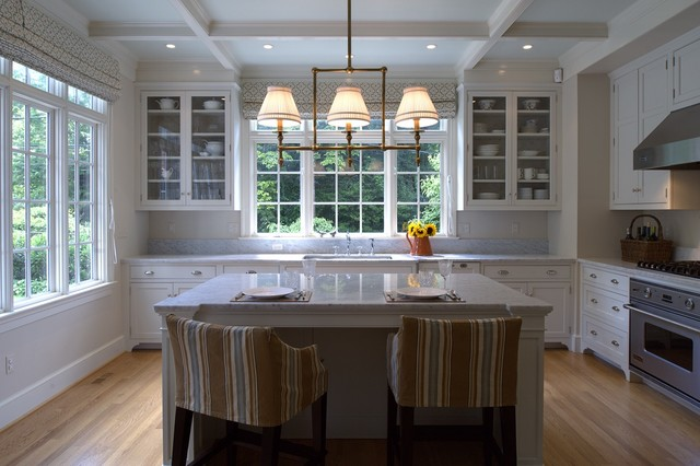 Spring Valley Residence traditional-kitchen