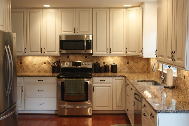 Springfield traditional kitchen dc metro by - Cornerstone kitchens and bathrooms ...