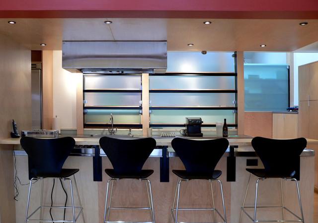 Spruce Condo 1 modern-kitchen
