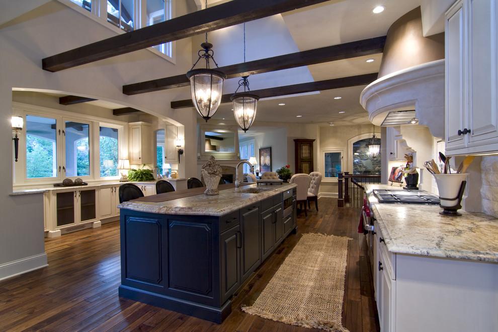 Kitchen - traditional kitchen idea in Minneapolis