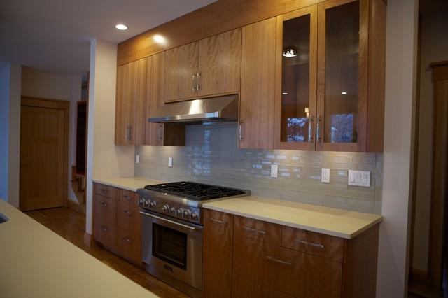 Spy Pond House Contemporary Kitchen Boston By Evb Design