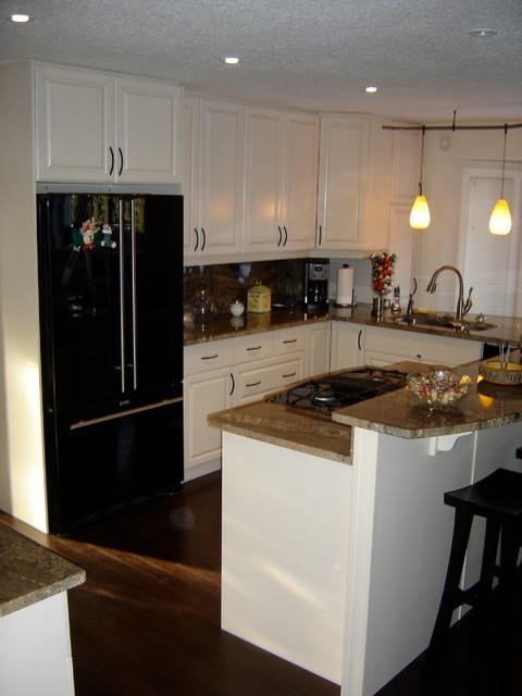 St Albert Kitchen Renovation Transitional Kitchen Edmonton By Ph 39 Designs