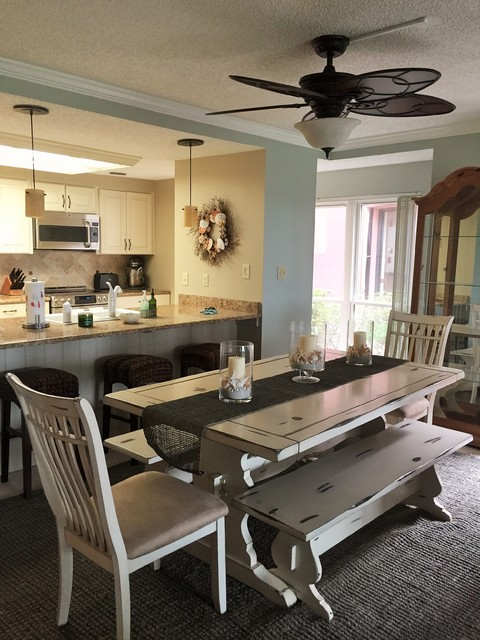 st augustine beach residential interior beach style prohibition kitchen sets a new standard for st augustine