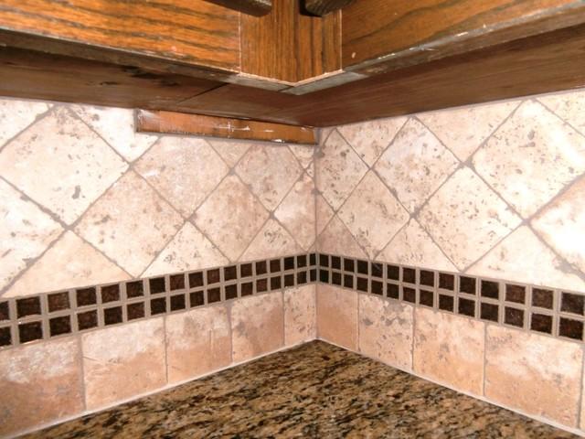 ST. CECILIA Granite on Dark Cabinets - Traditional - Kitchen ...