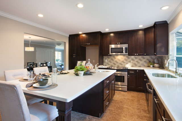St Charles Ct Danville Ca Contemporary Kitchen San Francisco By Ll Cool Homes
