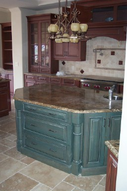 St. Charles Harbour, Fort Myers, FL traditional-kitchen