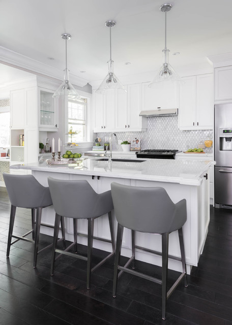 St clements residence transitional kitchen toronto for 7 ft kitchen ideas