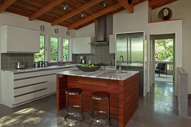 St Croix River House Contemporary Kitchen