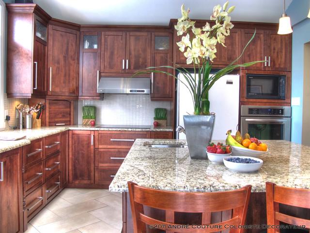 St-Hilaire's kitchen contemporary-kitchen