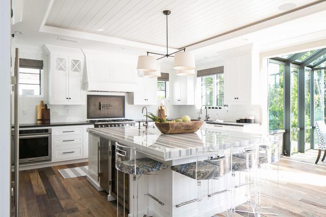 Wagner Design st. james - beach style - kitchen - orange county -brooke wagner