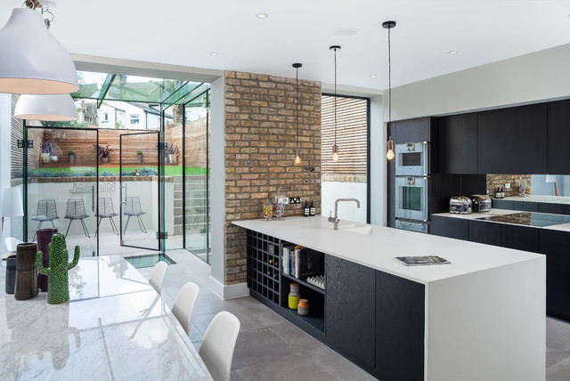 St james 39 drive contemporary kitchen london by for David james kitchen designs