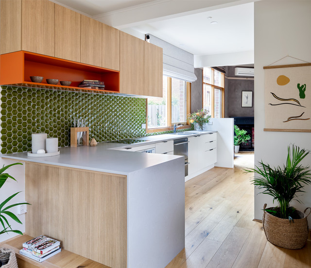 Kitchen Design Melbourne: St Kilda East Terrace